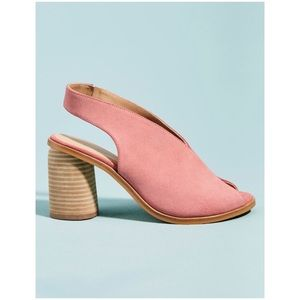 Anthropologie Tracy Slingback Shooties New Booties
